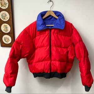 Columbia Reversible Down Puffer Jacket
